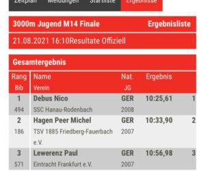 Nico holt sich seinen ersten Hessenmeister-Titel